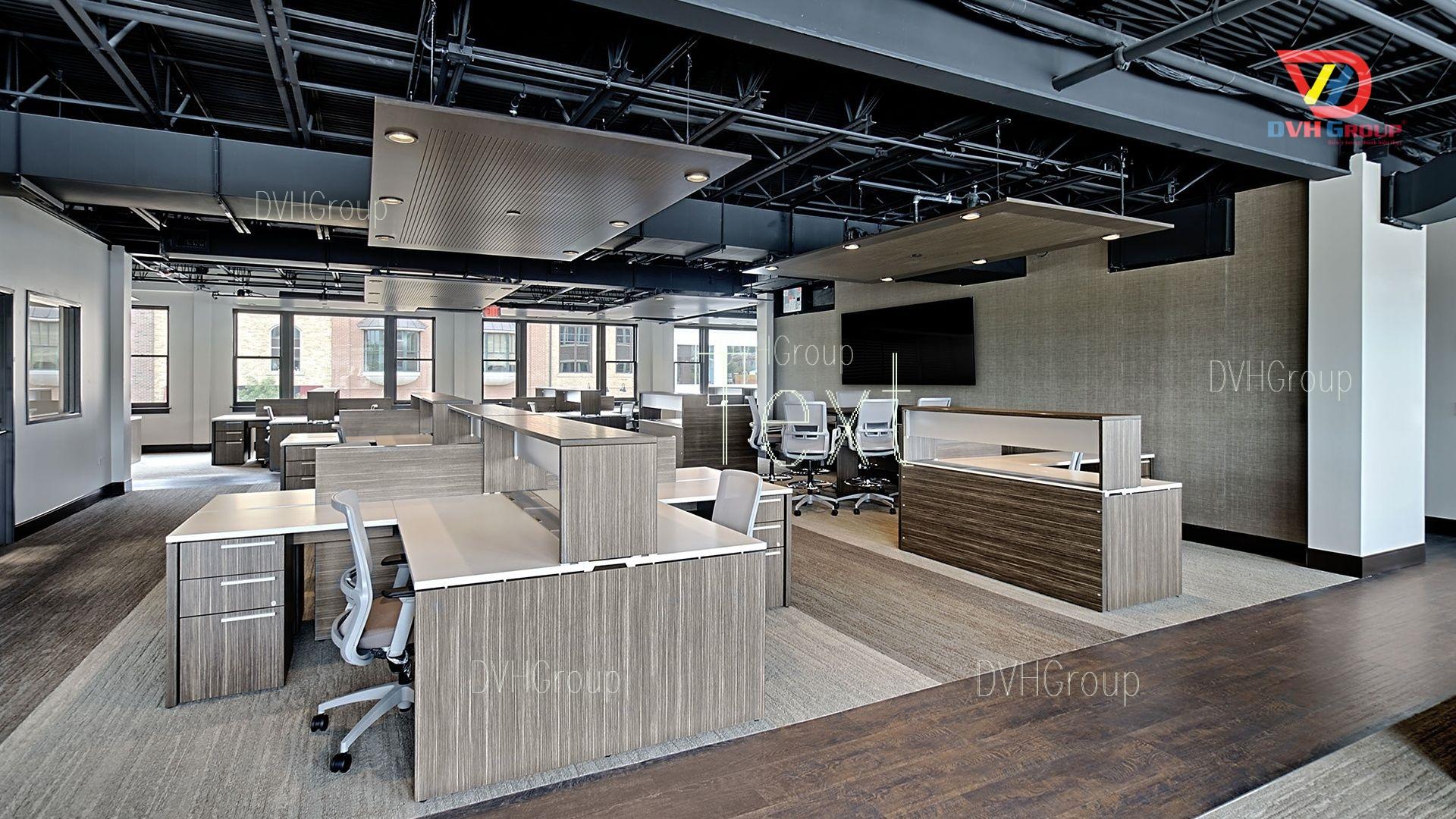 Thiết kế nội thất văn phòng tại quận Phú Nhuận