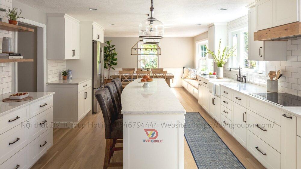 Thiết kế nội thất căn hộ chung cư - Phòng bếp