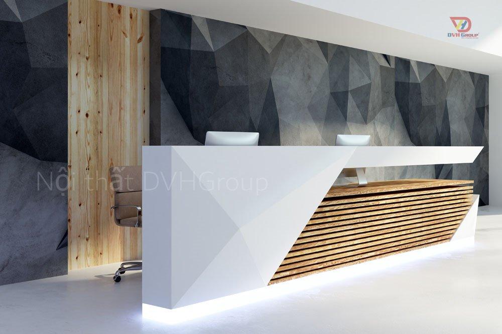Công Ty Thiết Kế Nội Thất Tại TP Biên Hòa - Thiết kế nội thất Bàn tiếp tân
