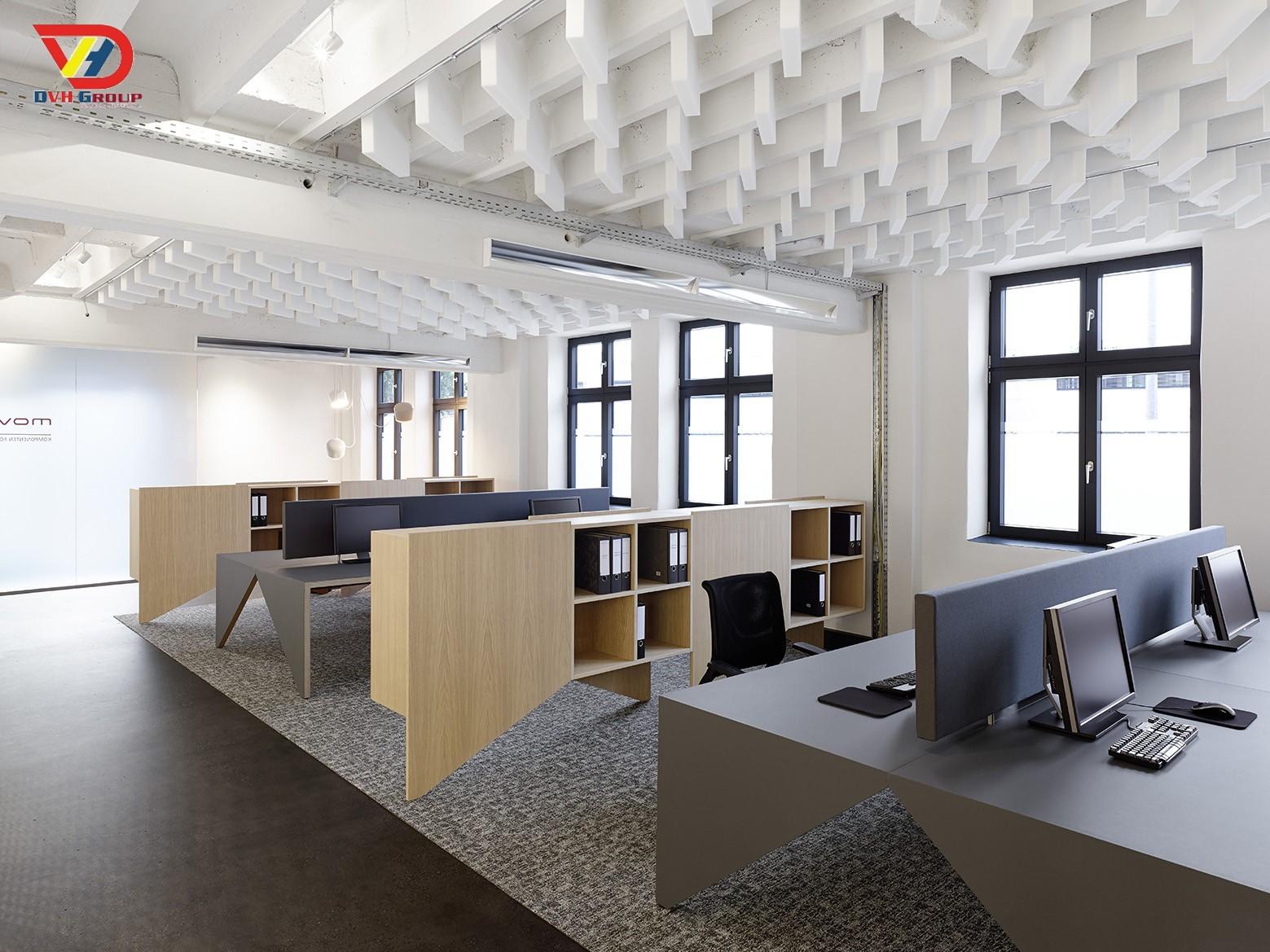 Thiết kế văn phòng theo phong thuỷ - Nội thất văn phòng tại Đồng Nai