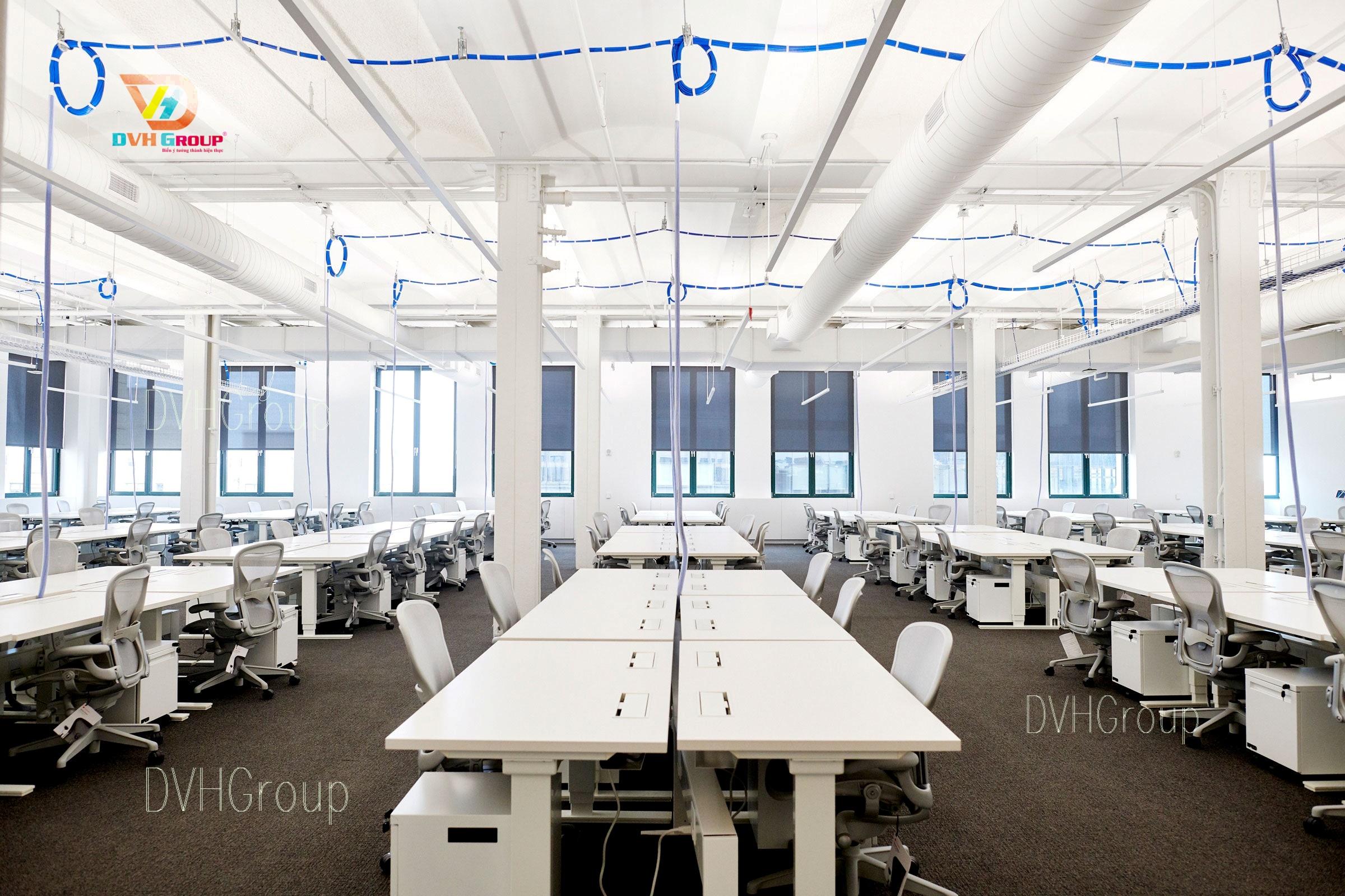 Thiết kế nội thất văn phòng tại Long An Hiện Đại
