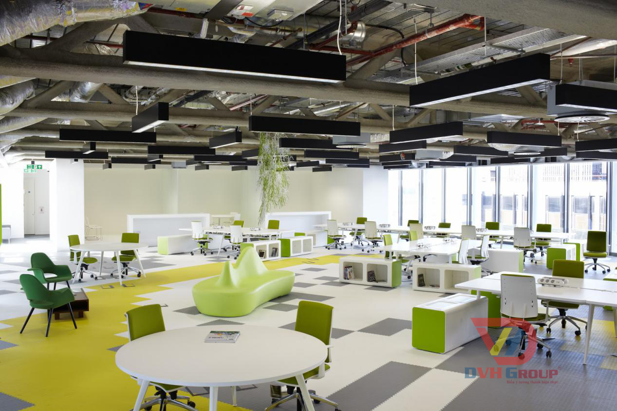 Thiết kế nội thất văn phòng tại quận Tân Phú Một Cách chuyên nghiệp nhất