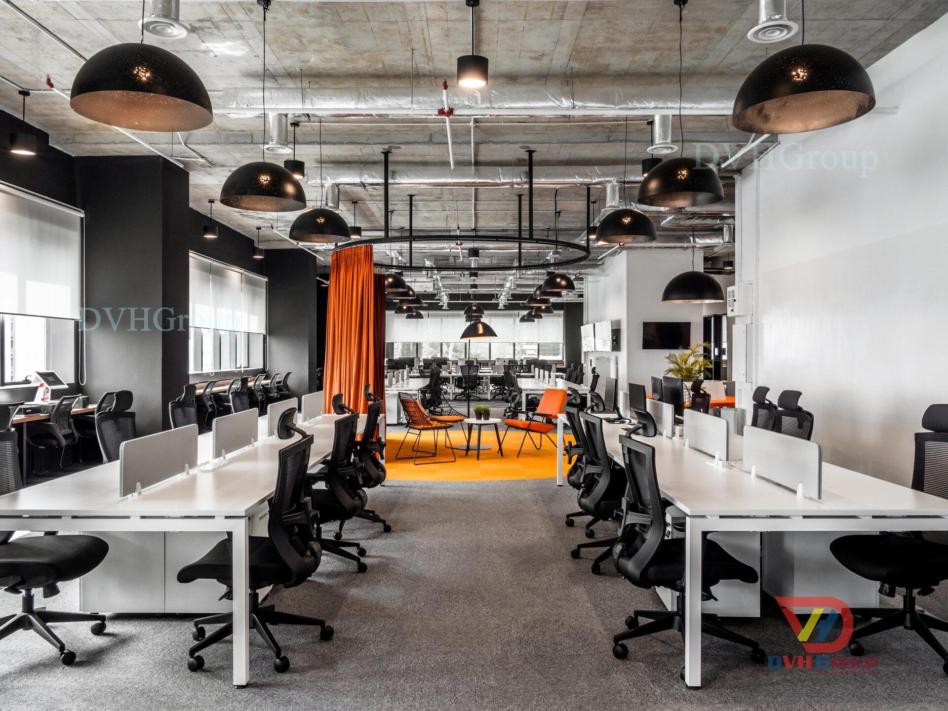 Thiết kế nội thất văn phòng tại Long An Hiện Đại Tinh Tế